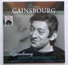 Serge Gainsbourg Avant Gainsbarre LP sealed 180 gm green colored vinyl RSD 2019