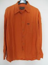 Chemise MARLBORO CLASSICS manches longues orange XL