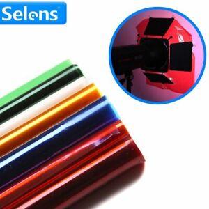1pc Studio Gel Filter Paper 40*50cm Professional Spotlight Filterpaper Photograp