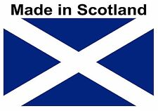 100 made in Scotland flag Stickers self adhesive Labels 25mm x 15mm FREE POSTAGE
