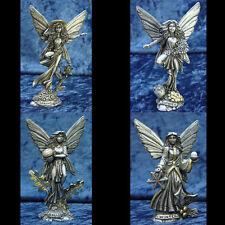 Four Seasons Fairy Pewter Figurines Rawcliffe
