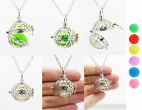 Harmony Ball Pendant Lockets Essential Oil Perfume Diffuser Necklace MHXL-1