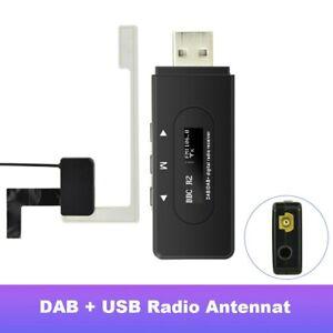 DAB + Modul Scheiben Antenne Aktiv Funkadapter für Universal Android System