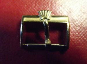 ROLEX ULTRARARE VINTAGE '40/'50/'60 -GOLD COLOR BUCKLE 16 mm INSIDE -SWISS MADE