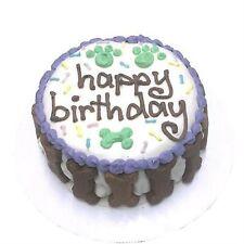 Bubba Rose Happy Birthday Gourmet Organic Dog Puppy Cake (Unisex) Organic