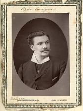 Lemercier et Cie., Paris, M. Talazac de l'Opéra Comique  Vintage print.