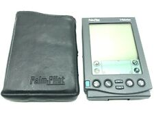 Us Robotics Palm Pilot Professional with Stylus And Protective Sleeve Vintage