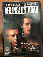 JEFF BRIDGES TIM ROBBINS arlington road ~ 1999 Conspiracy SUSPENSE GB DVD