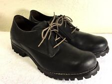 Timberland Boot Company men's Black Leather Round Toe Oxford Shoes Size US 12 M