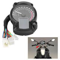 DC 12V Rétroéclairage Digital LCD Moto Tachymètre Odomètre Compteur De Vitesse