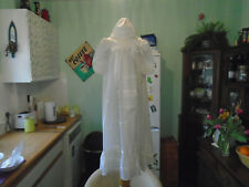 Vintage Childs Christening Gown Peter Baaling Made In England