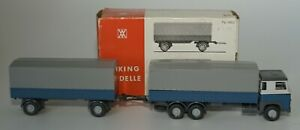 Wiking Modelle Nr.460 Scania Delivery truck with Tilt and extra truck HO, 1:87