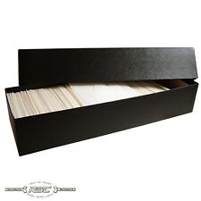 Guardhouse Black Storage Box for #3 Glassine Stamp Envelopes - 1-Box