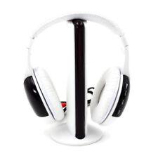 5 in 1 Hi-Fi Wireless Headset Headphones Earphone for PC Laptop TV FM Radio MP3