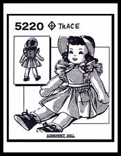 "Mail Order 5220 Doll Fabric Sewing Pattern ~Sunbonnet Sue~ 18"" GIRL Toy Vintage"