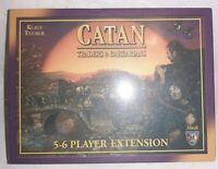 Catan Traders And Barbarians 5-6 Player Extension Factory Sealed