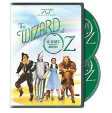 Family movie DVD, The Wizard of Oz 70th Anniversary 2 Disc Special Edition NEW