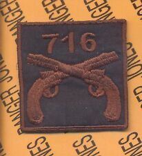 716 MP Military Police 101 Airborne HCI patch A