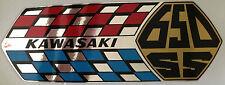 KAWASAKI W1SS 650 W2SS 650 W650 latéral Panneau décalques