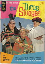 The Three Stooges Gold Key Comic Book #35, 1967 FINE