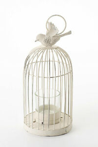 Vintage Meduim Birdcage Tea Light Holder Shabby Chic Wedding Venue Home Gift