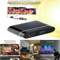 HD 1080P Smart Home Theater Projectors Mirroring Linux Bluetooth HDMI USB