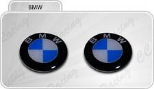 2 Adesivi Resinati Stickers 3D BMW 30 mm
