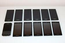 12x BlackBerry Classic, Leap und Z3 - 16GB - Farbe Schwarz - Konvolut