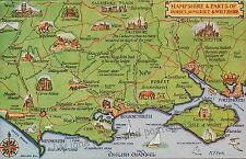 Posted J Salmon Printed Collectable Hampshire Postcards