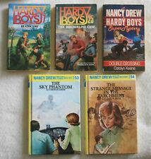 5 Books Nancy Drew & The Hardy Boys