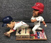 Albert Pujols / Stan Musial Cardinals Dual FOCO Bobblehead #94/504 SUPER RARE