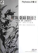 METAL GEAR SOLID 2 ZONE OF THE ENDERS JAPAN PREMIUM GUIDE BOOK YOJI SHINKAWA