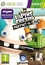 THE LAPINS CRETINS  PARTENT EN LIVE                   -----   pour X-BOX 360