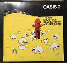 OASIS 2 THE 1988 GREASY POP COMPILATION OF ADELAIDE BANDS Vinyl LP Record