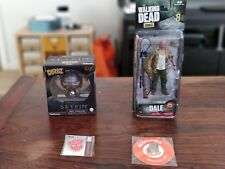 Lot of random nerd collectibles Skyrim The Walking Dead Transformers Loot Crate