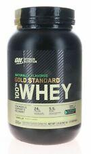 Optimum Nutrition Gold Standard 100% Whey 1.9 lb - Vanilla - 27 Srv - NEW (O)