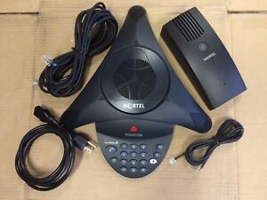 Nortel Norstar Polycom Audio Conferencing Unit NTAB4213 BCM Conference Phone