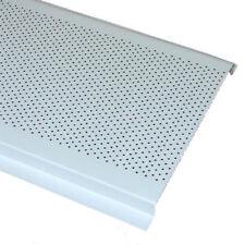 """Decomesh 6"""" Aluminum Undereave Soffit Vent White"""