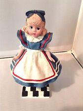 "1999 Madame Alexander 6"" Alice in Wonderland Figurine Limited Edition Numbered"
