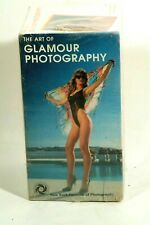The Art of Glamour Photography~ Lot 4 Vhs Tapes Ny Institute of Photography Nos