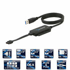 Sabrent USB 3.0 TO SATA/IDE 2.5/3.5/5.25-INCH Hard Drive Converter (USB-DSC8)