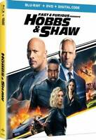 Fast & Furious Presents: Hobbs & Shaw NEW Blu-ray + Additional Movies SHIP FREE