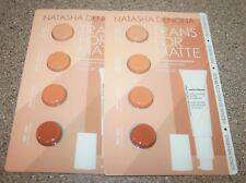 2 x NATASHA DENONA TRANSFORMATTE Pore Vanishing Foundation Sample 4 shades