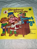"Strawberry Shortcake Sweet Songs 33rpm 12"" Vinyl"
