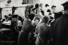 1953 Leningrad Russia Women Hat Fashion Shop Photo Art By Henri Cartier-Bresson