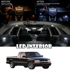 For 94-04 Chevrolet S-10 Pick Up Truck LED Interior Light Bulb White Package Kit