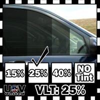 "Uncut Window Tint Film Roll 25% VLT 20"" 180"" 15 Feet Office Auto Commercial Home"