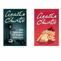 The Murder of Roger Ackroyd & Crooked House by Agatha Christie