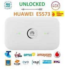 New Unlocked Huawei E5573 4G/4GX WIFI Modem/Broadband (Best for Overseas Travel)