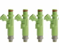 4 x 550cc Fuel Injectors for Toyota 4AGE / 4AGZE TOP FEED TYPE E85